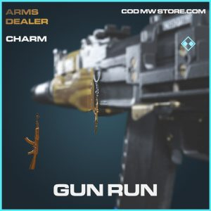 Gun Run charm rare call of duty modern warfare warzone item