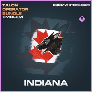 Indiana emblem epic call of duty modern warfare warzone item