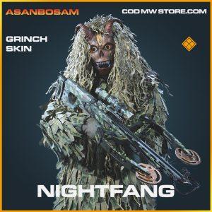 Nightfang grinch skin legendary call of duty modern warfare warzone item