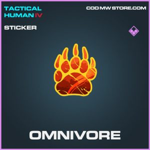Omnivore epic sticker call of duty modern warfare warzone item