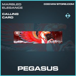 Pegasus calling card rare call of duty modern warfare item