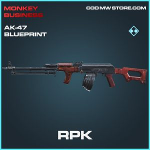 RPK AK-47 AK47 skin rare blueprint call of duty modern warfare warzone item