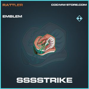 SSSStrike emblem rare call of duty modern warfare warzone item