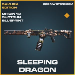 Sleeping dragon origin 12 shotgun skin legendary blueprint call of duty modern warfare warzone item