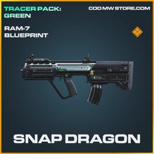 Snap Dragon RAM-7 skin blueprint legendary call of duty modern warfare warzone item