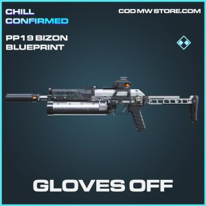 gloves off PP19 Bizon skin epic call of duty modern warfare item