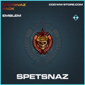 Spetsnaz emblem rare call of duty modern warfare warezone item