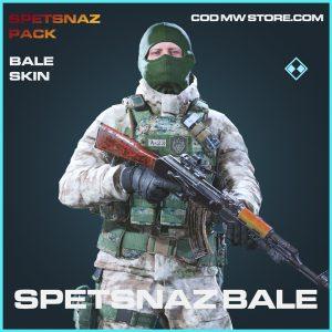 Spetsnaz Bale skin rare call of duty modern warfare warezone item