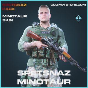 Spetsnaz minotaur skin rare call of duty modern warfare warezone item