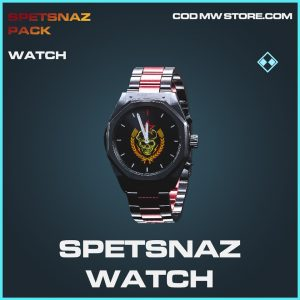 Spetsnaz watch rare call of duty modern warfare warezone item