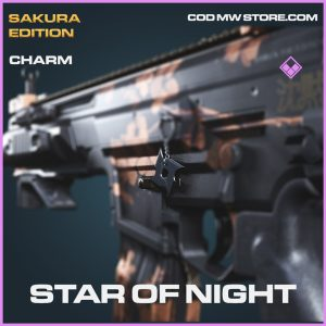 Star of night charm epic call of duty modern warfare warzone item