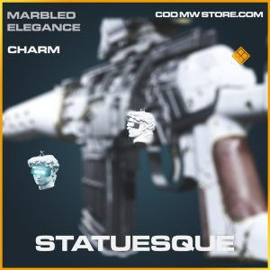 Statuesque legendary charm call of duty modern warfare item