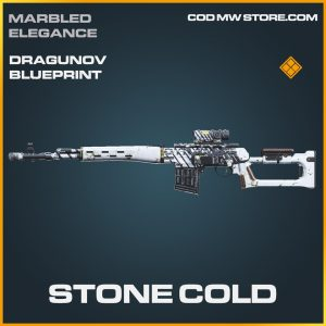 Stone Cold Dragunov skin legendary blueprint call of duty item