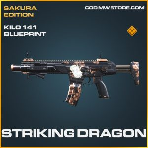 Striking Dragon Kilo 141 skin legendary blueprint call of duty modern warfare warzone item