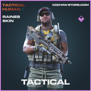 Tactical Raines skin epic call of duty modern warfare warzone item