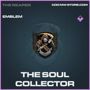 The Soul Collector emblem epic call of duty modern warfare warzone item