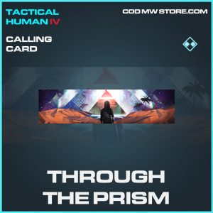 Through the prism calling card rare call of duty modern warfare warzone item