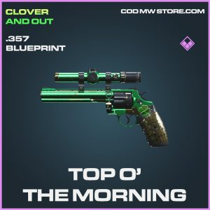 Top O' O The morning .357 skin epic blueprint call of duty modern warfare warzone item