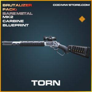 Torn MK2 Carbine skin legendary blueprint call of duty modern warfare warzone item