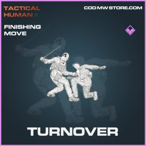 Turnover finishing move epic call of duty modern warfare warzone item