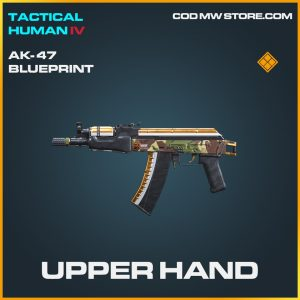Upper Hand AK-47 skin legendary blueprint call of duty modern warfare warzone item