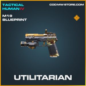 Utilitarian M19 skin legendary blueprint call of duty modern warfare warzone item