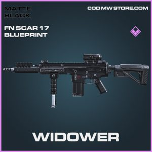 Widower FN Scar 17 skin epic call of duty modern warfare warzone skin