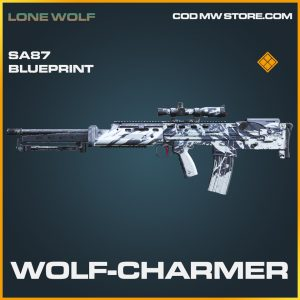 Wolf-Charmer SA87 skin legendary blueprint call of duty modern warfare warzone item