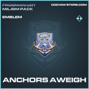 Anchors Aweigh emblem rare call of duty modern warfare warzone item