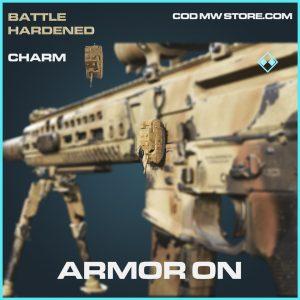 Armor on charm rare call of duty modern warfare warzone item