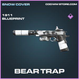Bear Trap 1911 skin epic blueprint call of duty modern warfare warzone item