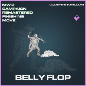 Belly Flop Ghost Finishing Move epic call of duty modern warfare warzone item