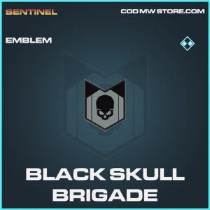 Black Skull Brigade emblem rare call of duty modern warfare warzone item