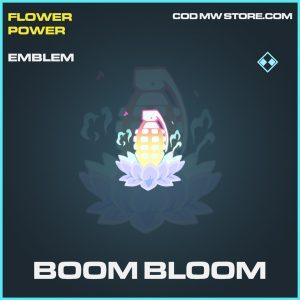 Boom Bloom emblem rare call of duty modern warfare warzone item
