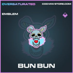 Bun Bun emblem epic call of duty modern warfare warzone item