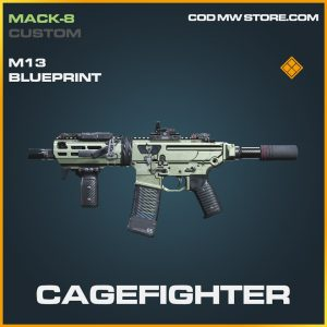 Cagefighter M13 skin legendary blueprint call of duty modern warfare warzone item