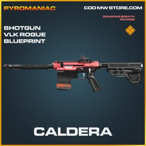 Caldera shotgun VLK Rogue blueprint legendary call of duty modern warfare warzone item