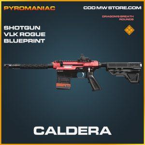 Caldera shotgun VLK Rogue blueprint legendary call of duty modern warfare warzone item