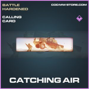 Catching air calling card epic call of duty modern warfare warzone item