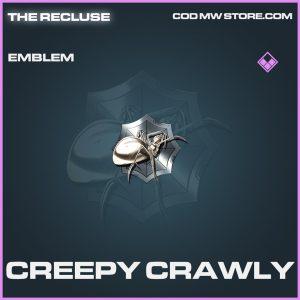 Creepy Crawly epic emblem call of duty modern warfare warzone item