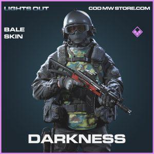Darkness Bale skin call of duty modern warfare warzone item