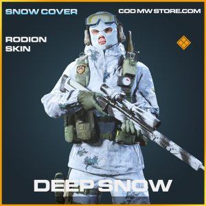 Deep snow rodion skin legendary call of duty modern warfare warzone item