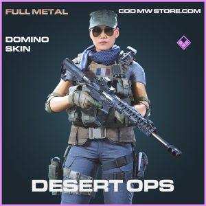 Desert Ops domino skin epic call of duty modern warfare warzone item