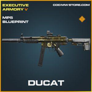 Ducat MP5 skin legendary blueprint call of duty modern warfare warzone item