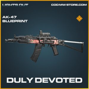 Duly Devoted AK-47 skin legendary call of duty modern warfare warzone item