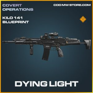 Dying light kilo 141 skin legendary blueprint call of duty modern warfare warzone item