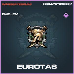 Eurotas emblem epic call of duty modern warfare warzone item