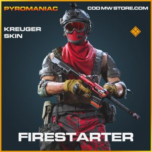 Firestarter kreuger skin legendary call of duty modern warfare warzone item