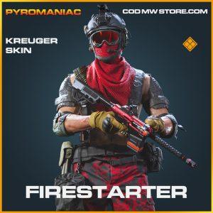 Firestarter kreuger skin legendary call of duty modern warfare warzone item