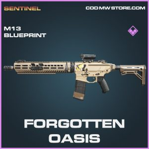 Forgotten Oasis M13 skin epic blueprint call of duty modern warfare warzone item